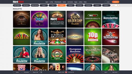 NetBet Casino desktop screenshot-4