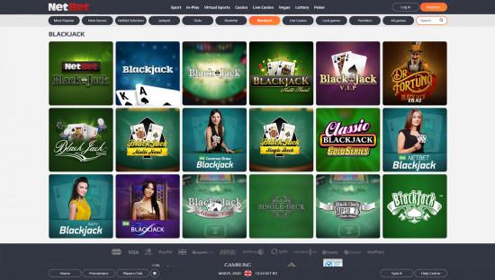 NetBet Casino desktop screenshot-5