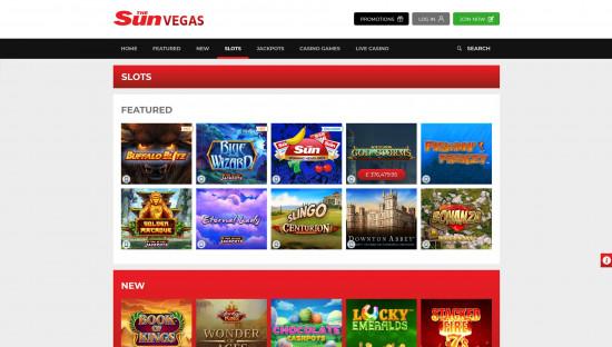 Sun Vegas desktop screenshot-1