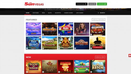 Sun Vegas desktop screenshot-2