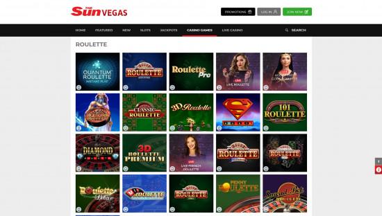 Sun Vegas desktop screenshot-5