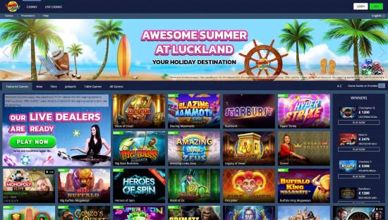 LuckLand desktop screenshot-1