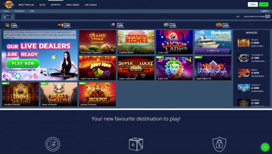 LuckLand desktop screenshot-3