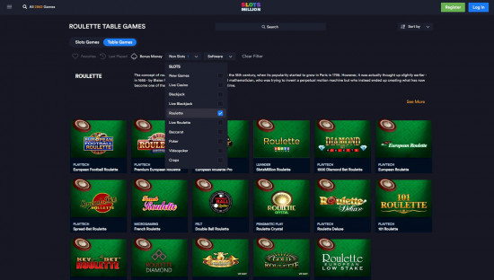 SlotsMillion desktop screenshot-4