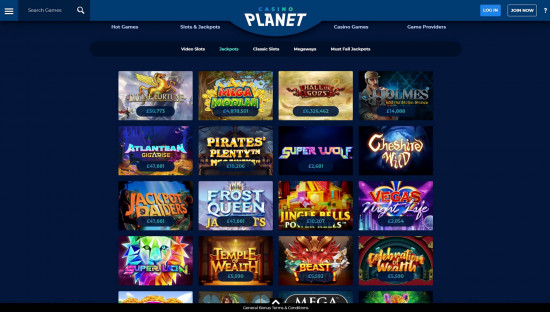Casino Planet desktop screenshot-4