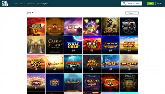Skol Casino desktop screenshot-3
