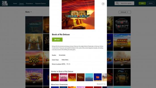 Skol Casino desktop screenshot-4