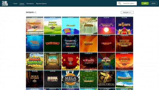 Skol Casino desktop screenshot-5