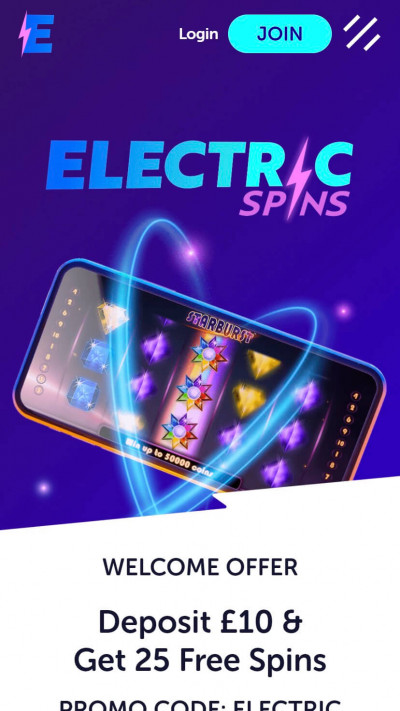 Electric Spins mobile app screenshot-1
