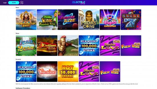 Electric Spins desktop screenshot-4