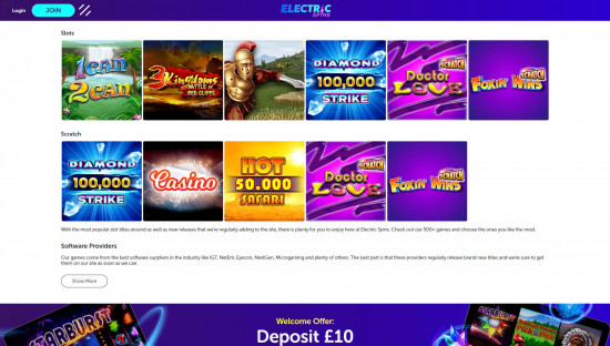 Electric Spins desktop screenshot-5