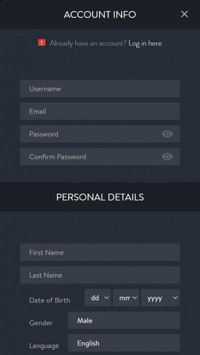 Hippodrome Casino mobile app screenshot-5