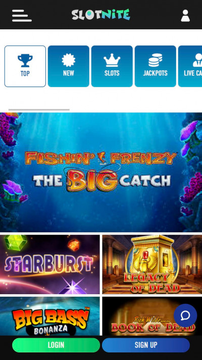 Slotnite mobile app screenshot-2