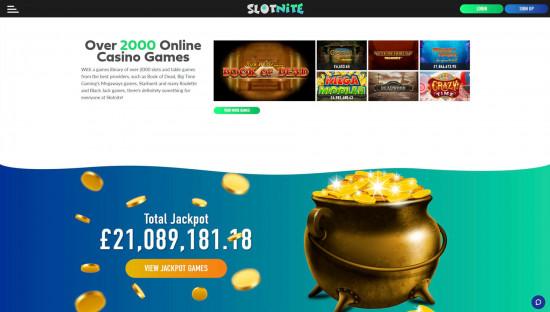 Slotnite desktop screenshot-1