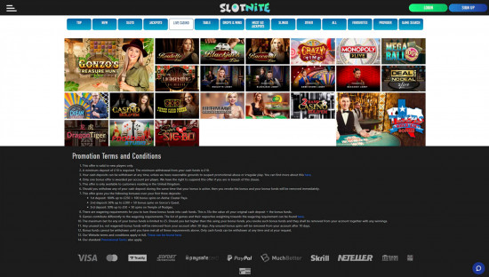 Slotnite desktop screenshot-5