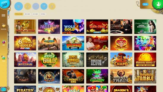 Casino Lab desktop screenshot-2