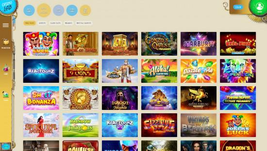 Casino Lab desktop screenshot-3
