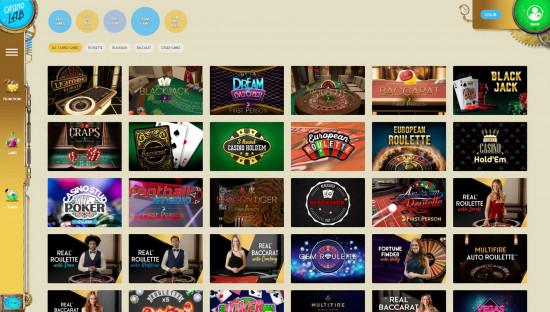 Casino Lab desktop screenshot-4