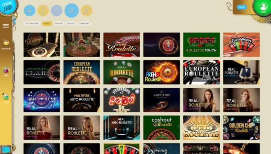 Casino Lab desktop screenshot-5