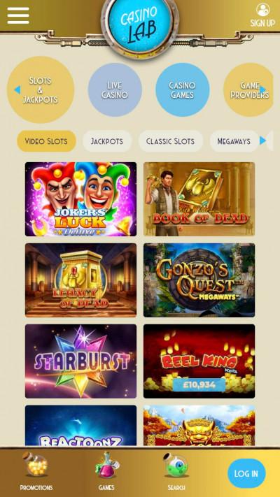 Casino Lab mobile app screenshot-3