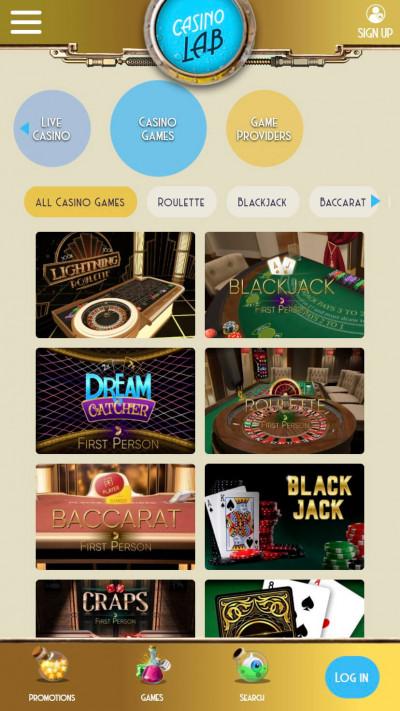 Casino Lab mobile app screenshot-4