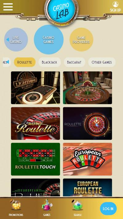 Casino Lab mobile app screenshot-5
