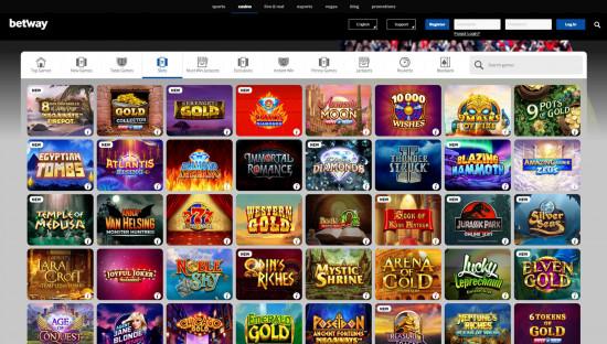 Betway Casino desktop screenshot-4