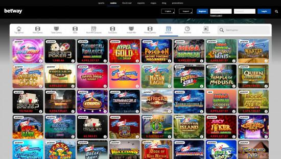 Betway Casino desktop screenshot-5