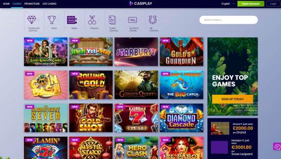 Casiplay desktop screenshot-3