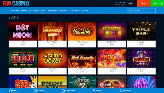 Fun Casino desktop screenshot-2
