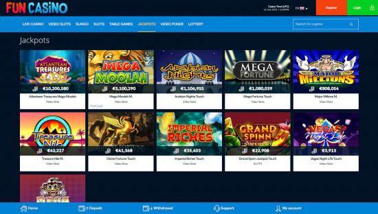 Fun Casino desktop screenshot-3