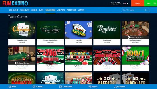 Fun Casino desktop screenshot-4
