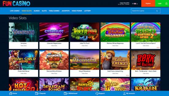 Fun Casino desktop screenshot-5