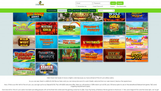 Pots Of Luck desktop screenshot-2