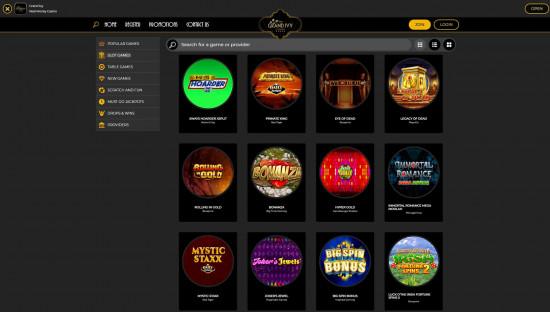 Grand Ivy Casino desktop screenshot-1