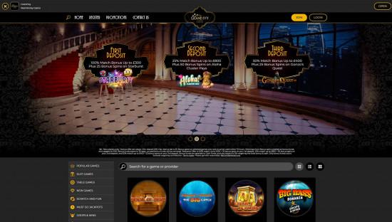 Grand Ivy Casino desktop screenshot-2