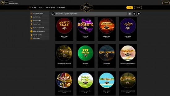 Grand Ivy Casino desktop screenshot-3