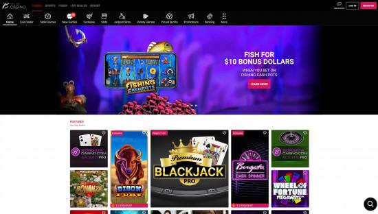 Borgata Casino desktop screenshot-1