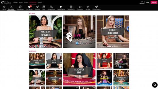 Borgata Casino desktop screenshot-2