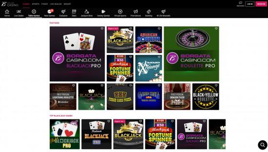 Borgata Casino desktop screenshot-3