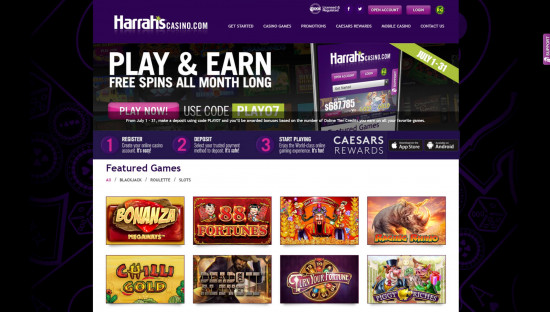 Harrahs desktop screenshot-1
