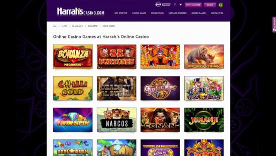 Harrahs desktop screenshot-2