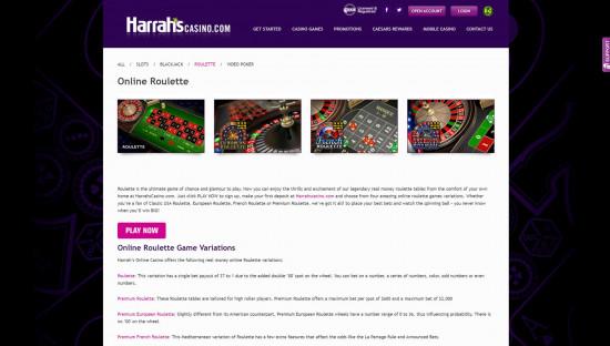 Harrahs desktop screenshot-4