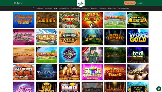 Mr Green Casino desktop screenshot-1