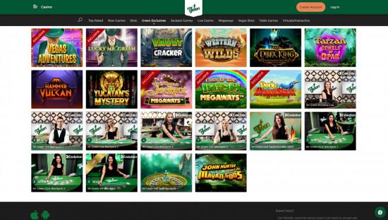 Mr Green Casino desktop screenshot-3