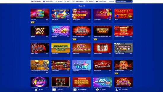 All British Casino desktop screenshot-1