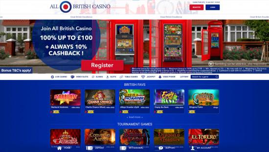 All British Casino desktop screenshot-2