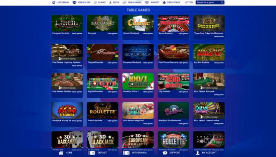 All British Casino desktop screenshot-3