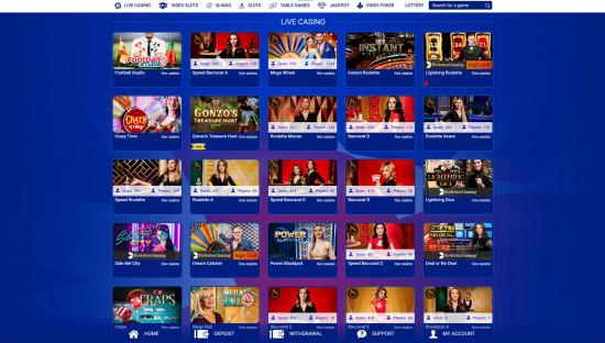 All British Casino desktop screenshot-5