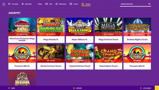 Yako Casino desktop screenshot-1